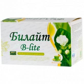 Билайт B-Lite чай для похудения 20 пакетиков – купить по цене 1900 руб. в интернет-магазине pohudela.net