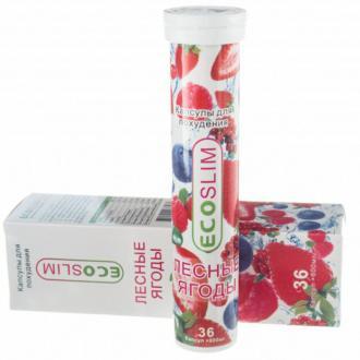 EcoSlim (лесные ягоды для похудения) 36 табл. – купить по цене 2300 руб. в интернет-магазине pohudela.net