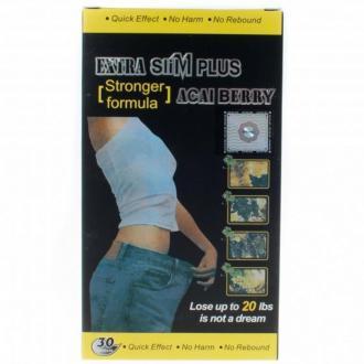 Extra Slim Plus (Ягоды Асаи) 30 капс. – купить по цене 2300 руб. в интернет-магазине pohudela.net