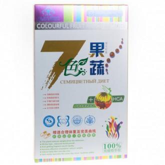 Китайский препарат для похудения Семицветная диета 30 табл. – купить по цене 2400 руб. в интернет-магазине pohudela.net